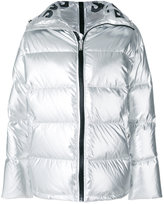 Sjyp metallic padded jacket