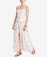 Denim & Supply Ralph Lauren Printed Cutout Maxi Dress