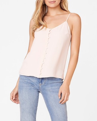 Express Crazy Little Thing Button Front Cami