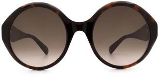Gucci Gg0797s Havana Sunglasses