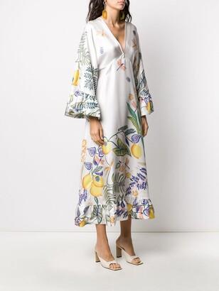 La DoubleJ Tangier kaftan dress