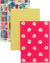 Cath Kidston Assorted Set of 3 Exercise Books Prints