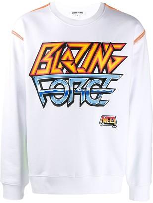 McQ 'Blazing Force' sweatshirt