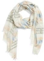 BP Women's Multi Stripe Scarf