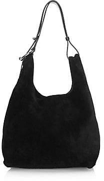 Rebecca Minkoff Women's Karlie Studded Suede Hobo Bag