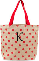 Cathy's Concepts Personalized Red Polka Dot Extra-Large Tote Bag