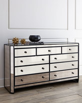 Horchow Powell Mirrored Chest