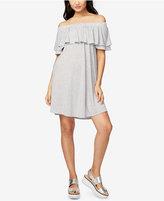 Rachel Roy Off-The-Shoulder Flounce Dress, Created for Macy's
