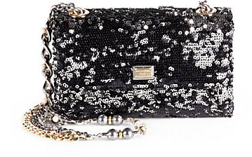 Dolce & Gabbana Sequined Medium Chain Bag
