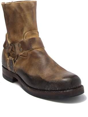 Frye John Addison Suede Harness Boot