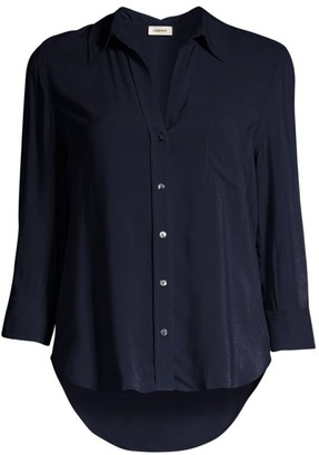 L'Agence Ryan Three-Quarter Sleeve Blouse
