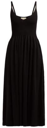 Mara Hoffman Delilah Jersey Dress - Womens - Black