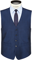 Daniel Hechter Tonic Tailored Waistcoat, Bright Indigo