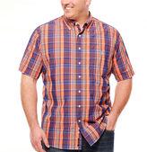 USPA U.S. Polo Assn. Short Sleeve Button-Front Shirt-Big and Tall
