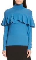 Tracy Reese Women's Flounced Turtleneck Sweater