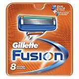 Gillette 86705-4 Fusion Mens Refill Cartridge Blades - 32 Count