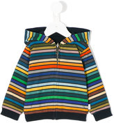 Paul Smith striped hoodie - kids - Cotton - 18 mth