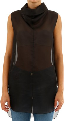 The Row High Neck Sleeveless Top