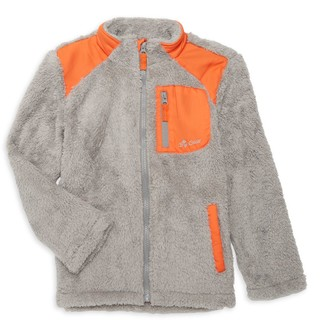 Big Chill Little Boy's & Boy's Faux Fur Zip-Up Jacket