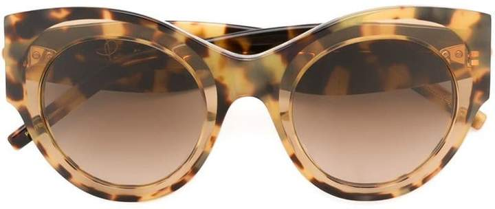 Pomellato Eyewear oversized round frame sunglasses