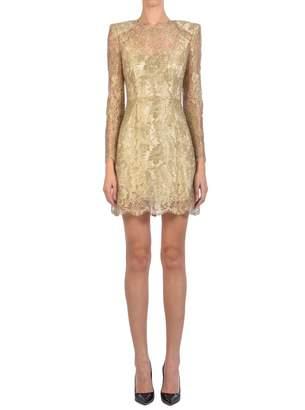 Dolce & Gabbana Gold Mini Dress