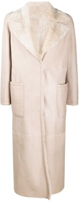 Manzoni 24 Long Shearling Coat