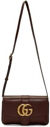 Gucci Burgundy Small Arli Shoulder Bag