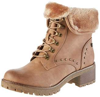 Refresh Women's 69188 Ankle Boots, Brown Camel