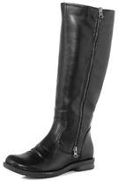 Dorothy Perkins Black zip up boot