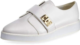 Karl Lagerfeld Paris Celina Turn-Lock Slide Sneakers