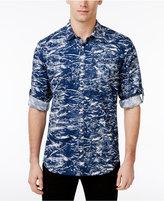 INC International Concepts Men's Splatter-Print Cotton Shirt, Created for Macy's