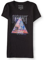 Aeropostale Womens Free State Perfect Ten Graphic T Shirt