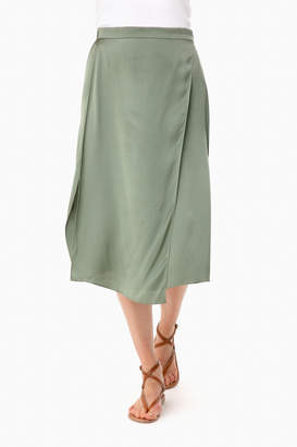 Vince Sage Flint Drape Panel Skirt