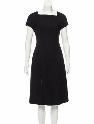 Jason Wu Sleeveless Lace Midi Dress w/ Tags Black