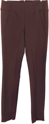 By Malene Birger Burgundy Spandex Trousers
