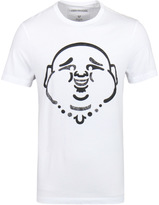 True Religion Original Buddha White Short Sleeve T-shirt