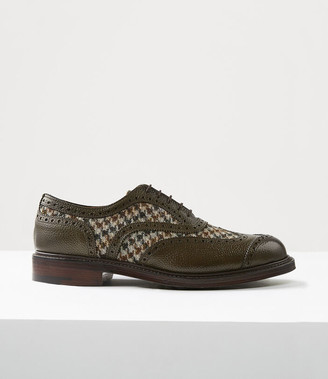 Vivienne Westwood Samuel Oxford Brogue Green