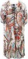 Just Cavalli printed flared dress