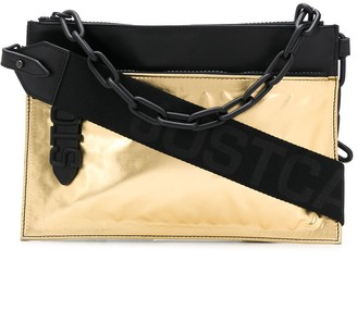 Just Cavalli Chain Detail Clutch Bag