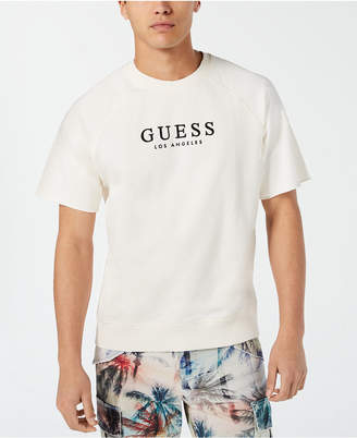 GUESS Men Short-Sleeve Raglan Sweatshirt