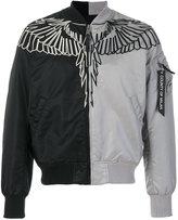 Marcelo Burlon County of Milan Talca Alpha MA-1 bomber jacket - men - Nylon/Polyester - M