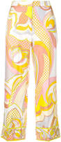 Emilio Pucci printed cropped trousers