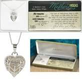 Cross Mother's Love Heart Locket Necklace