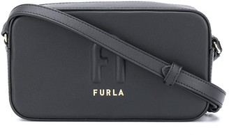 Furla Embossed Logo Mini Crossbody Bag