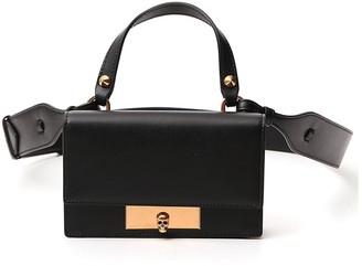 Alexander McQueen Skull Top Handle Crossbody Bag
