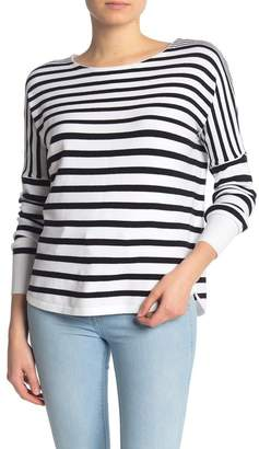 French Connection Striped Boatneck Dolman Sweater