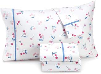 Martha Stewart Whim 200-Thread Count Novelty-Print Cotton 4-Piece Bedding Set