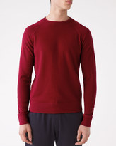 Wool Cotton Cashmere Knit Sweatshirt