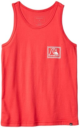 Quiksilver Bobble Tank Top (Big Kids) (High Risk Red) Boy's Clothing