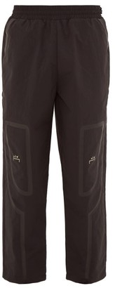 A-Cold-Wall* Logo-print Technical Track Pants - Mens - Black
